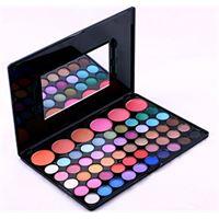 Pure Vie® 56 colori palette ombretti cosmetico tavolozza per trucco occhi con correttore blush e lucidalabbra - adattabile a uso professionale che privato
