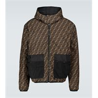 Fendi giacca reversibile ff