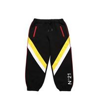 N°21 pantaloni in felpa di cotone con nylon