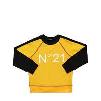N°21 felpa in cotone color block