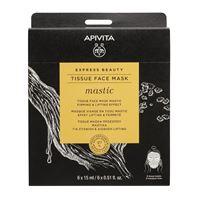 APIVITA express beauty - tissue face mask mastic 15 ml