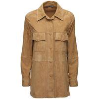 ALBERTA FERRETTI giacca in camoscio