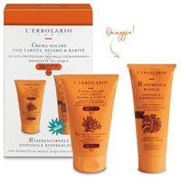 L'Erbolario kit crema solare per pelli ultrasensibili spf 30