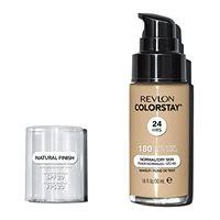 Revlon make up revlon, fondotinta colorstay per pelli secche, flacone con dispenser, 30 ml, n° 180 sand beige