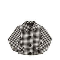EMPORIO ARMANI giacca in mist cotone pied de poule