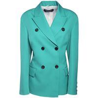 ROCHAS giacca doppiopetto in gabardina di lana