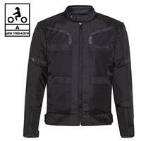 BEFAST giacca moto touring befast stein ce certificata 3 strati nero