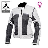 BEFAST giacca moto donna estiva befast freelife lady ce certificata nero grigio