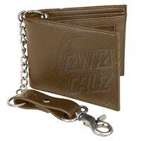 Santa Cruz portafogli Santa Cruz wallet opus dot chain brown