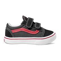 Vans scarpe Vans toddler comfycush old skool v pop black red