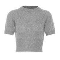 Prada pullover cropped in cashmere