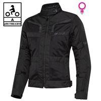 BEFAST giacca moto donna touring befast stein lady ce certificata 3 strati nero
