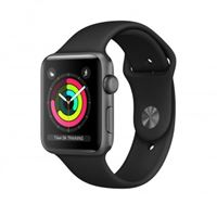 Apple watch series 3 smartwatch, 42 mm, grigio oled gps (satellitare)