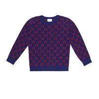 Gucci Kids pullover in lana jacquard
