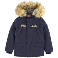Napapijri - giaccone impermeabile da sci - skidoo 10 anni