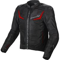 Macna giacca moto estiva Macna orcano grigio nero
