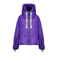 KHRISJOY piumino donna afpw001nyv161 poliestere viola
