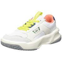 Lacoste ace lift 0120 2 sfa, scarpe da ginnastica donna, wht/lt gry, 38 eu