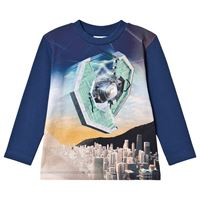 Molo t-shirt illustrata in cotone biologico