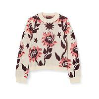 Scotch & Soda r´belle boxy fit intarsia folklore knit maglione, combo a 0217, 4 bambina