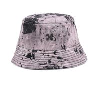 Off-White cappello da pescatore in denim tie-dye