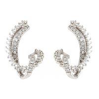 Crivelli orecchini oro bianco pavè diamanti crivelli