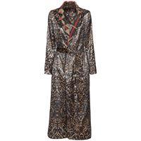 F.R.S. FOR RESTLESS SLEEPERS cappotto reversibile in velluto e seta