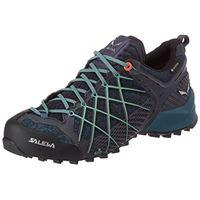 SALEWA ws wildfire gore-tex, scarpe da arrampicata basse donna, blu (ombre blue/atlantic deep), 35 eu