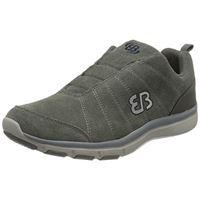 Brütting bruetting dallas slipper, mocassino uomo, grigio marino, 43 eu