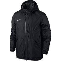 Nike team caso giacca, per bambini, jacke team fall, nero