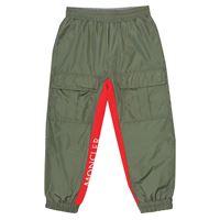 Moncler Enfant pantaloni sportivi in tessuto tecnico