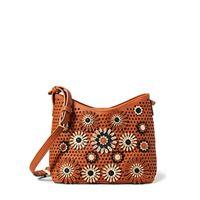 Desigual - borsa da donna bols_allegreto galati, colore: marrone