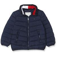 Calvin Klein u light down jacket giacca, blu (black iris 002), unica (taglia produttore: 12) unisex-bimbi