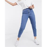 Levis levi's - jeans affusolati a vita alta blu slavato