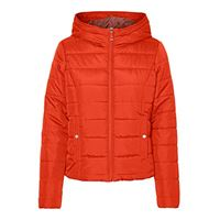 Vero Moda vmsimone aw20 hoody short jacket ga boos giacca, buckthorn marrone, s donna