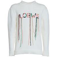 LOEWE maglia in misto cotone con logo
