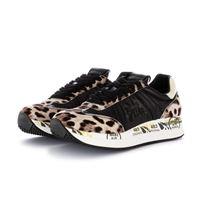 PREMIATA sneakers donna conny PREMIATA | nero beige maculato