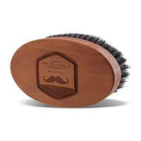 Mr. Burton´s Beard Oil mr burton's spazzola da barba di raffinata qualità in vero legno made in germany con setole di cinghiale naturali al 100%