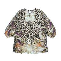 Camilla Kids abito a stampa leopardo con cristalli