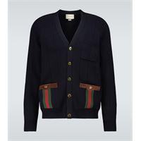 Gucci cardigan in misto lana