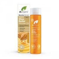Dr. Organic wonder oil olio idratante viso corpo capelli organic shea butter 150 ml