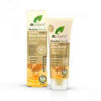 Dr. Organic crema mani e unghie hand & nail cream organic shea butter 100 ml