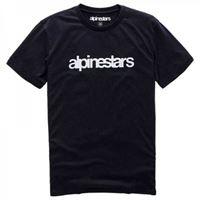 Alpinestars - t-shirt Alpinestars heritage word nero