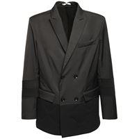 VALENTINO giacca doppiopetto in nylon