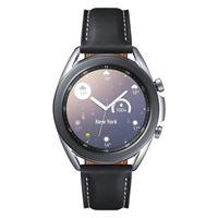 Samsung galaxy watch3 smartwatch bluetooth 41mm acciaio cinturino pelle mystic silver