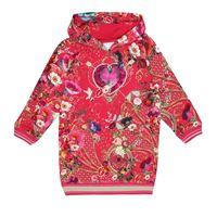 Camilla Kids abito felpa in cotone con cristalli