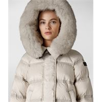 Peuterey fashion and functional superlight down jacket - grigio