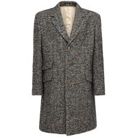 GUCCI cappotto monopetto in misto lana