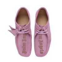"PALM ANGELS scarpe ""clarks wallabee"" in camoscio 30mm"