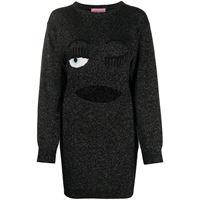 Chiara Ferragni maglione flirting - di colore nero